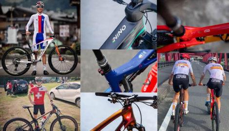 JJOO de Tokio, los participantes y sus bicicletas